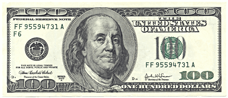 American dollar clipart