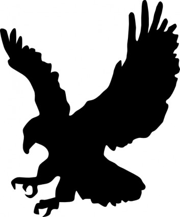 American Eagle clip art Vector .