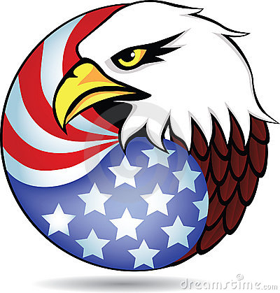 American Eagle Head Clipart .