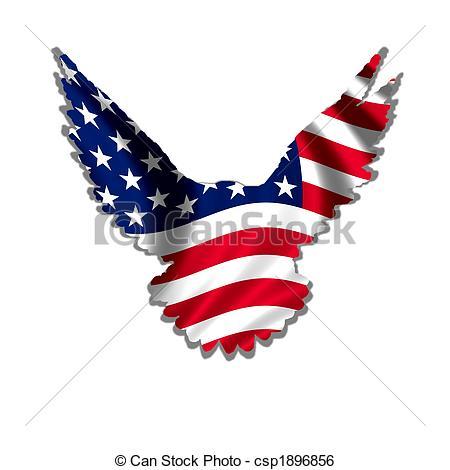 ... american eagle - stars u0026amp; stripes design