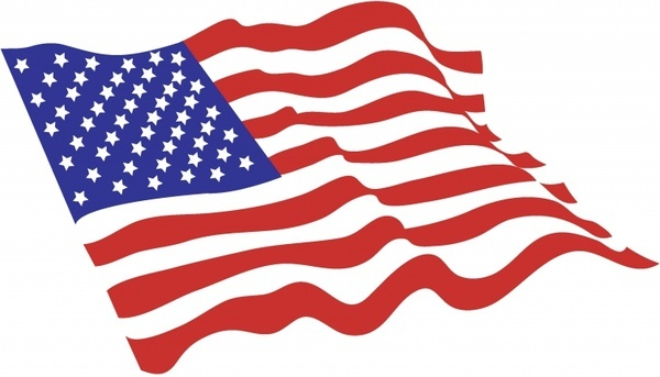 American Flag American Flag u0026middot;-American Flag American Flag u0026middot; sorts of butterflies clip art vector-6