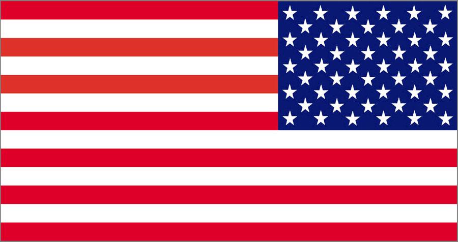 American Flag Clip Art - 72 .
