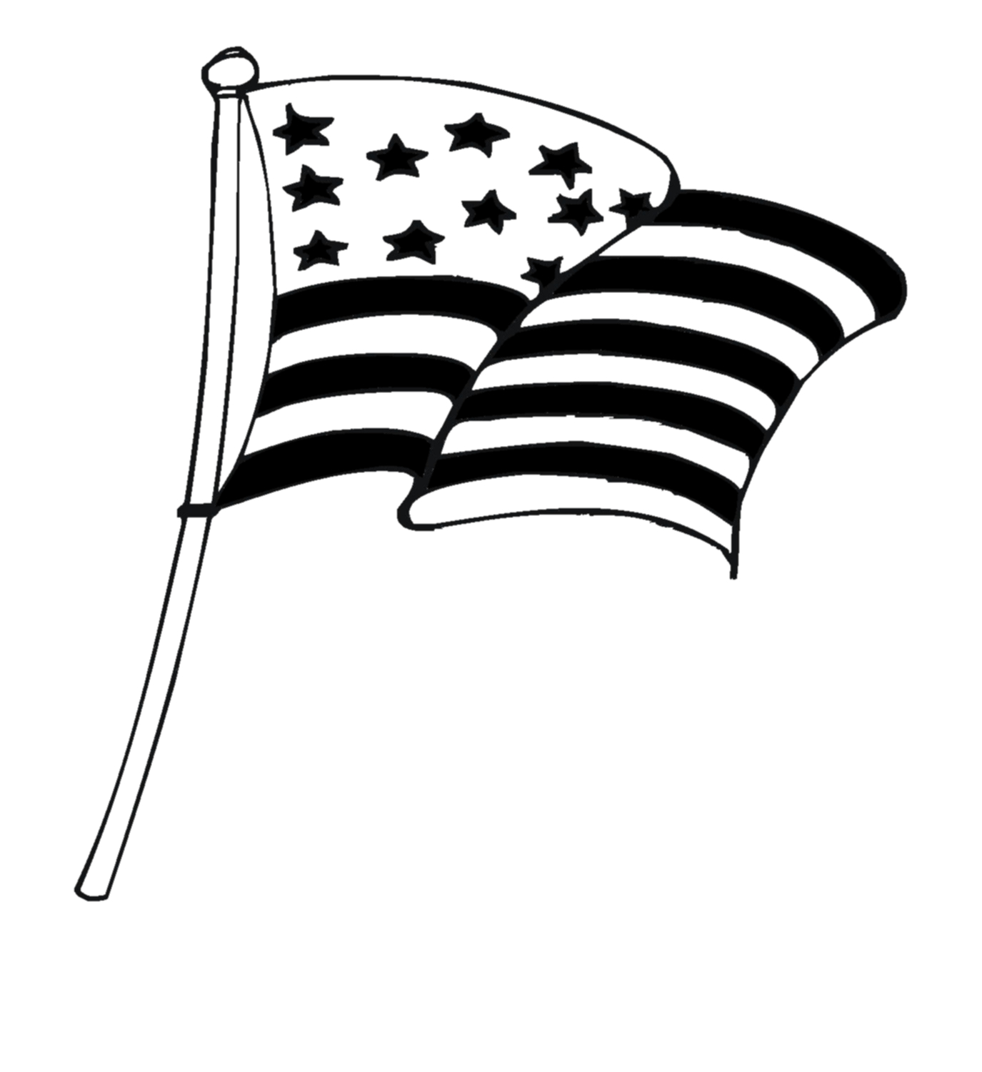 American flag clip art waving clipart cliparts for you