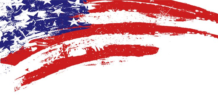 american flag banner clipart