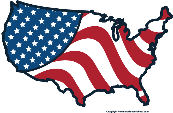 American Flag Clipart Black And White Clipart Panda Free Clipart