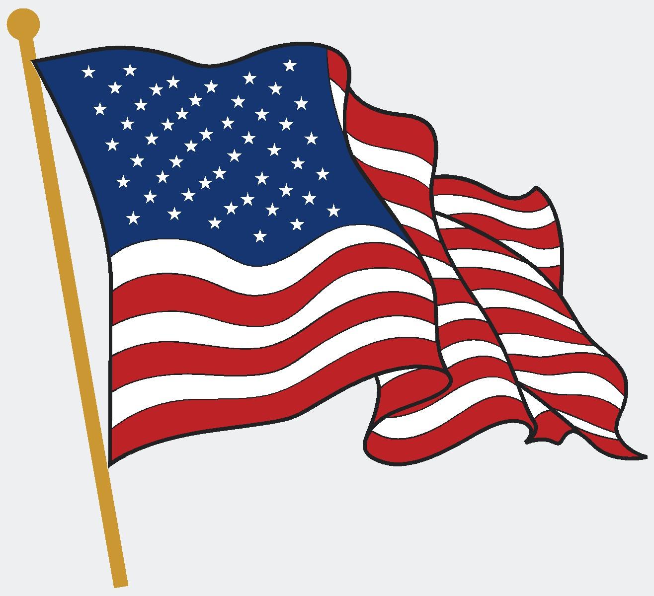 ... American Flag Free Flag Clip Art Cli-... American flag free flag clip art clipart cliparting 3 - Cliparting clipartall.com ...-5