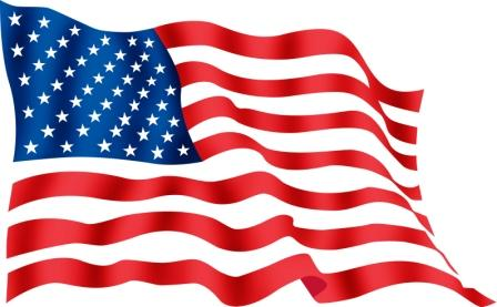 American flag free image clipart-American flag free image clipart-16