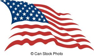 ... american flag - Waving Am - Waving American Flag Clip Art