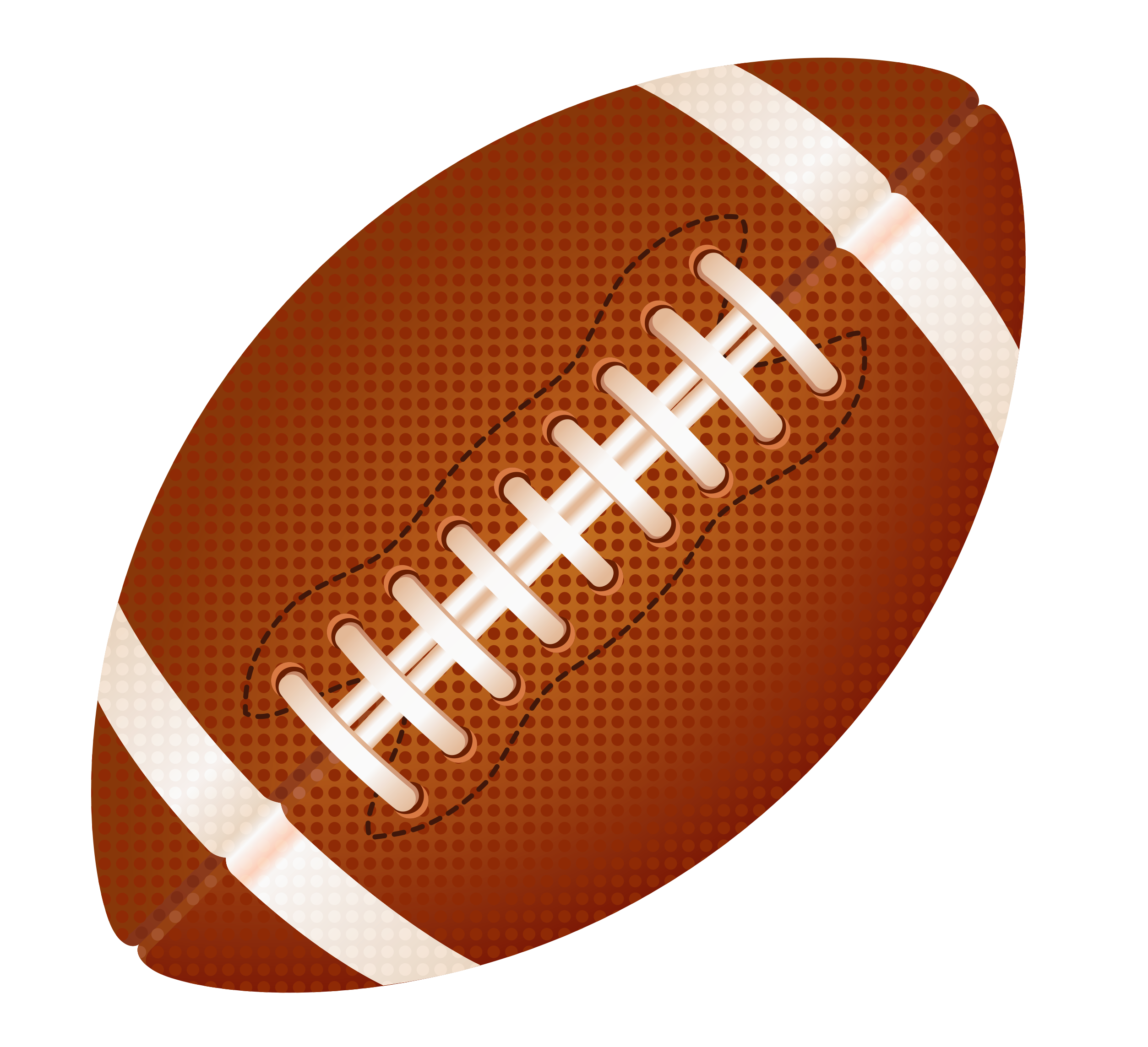American football clipart .