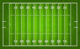 American football field .