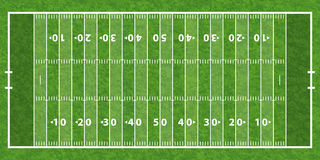 American Football Field Stock Image-American Football Field Stock Image-1
