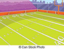 ... American Football Stadium. Cartoon B-... American Football Stadium. Cartoon Background. Vector.-2
