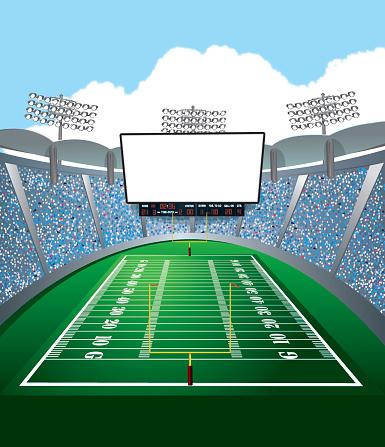 American Football Stadium .-American Football Stadium .-3