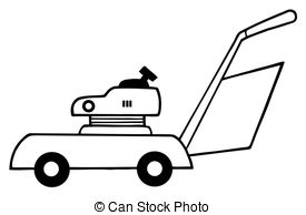 American Gardener Mowing Lawn Mower Retro Clipartby patrimonio7/335; Outlined Lawn Mower - Coloring Page Outline Of Lawn Mower