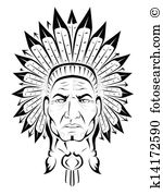 American Indian Chief-American Indian chief-16
