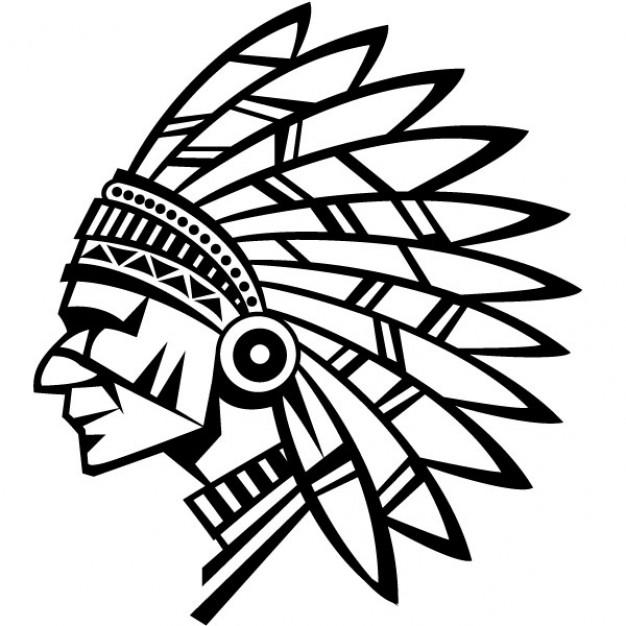 ... American Indian Chief Vector Illustr-... American indian chief vector illustration Vector | Free Download ...-15