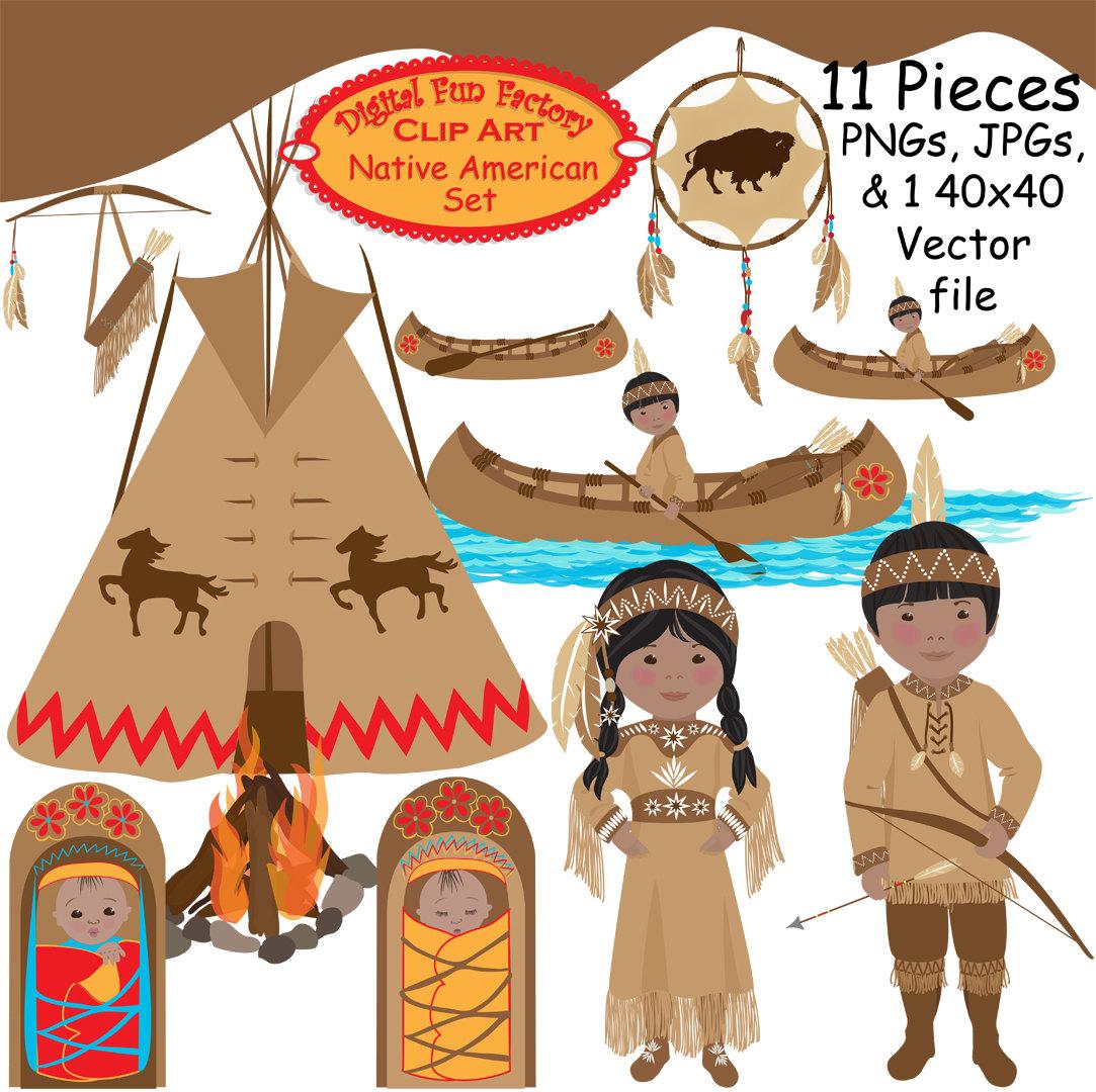 American indian clip art - ClipartFest