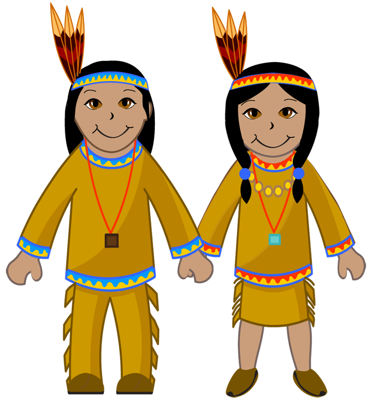 American Indians clipart
