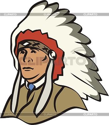 American indians   Stock Photos and Vektor EPS Clipart   CLIPARTO / 2