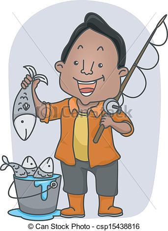 Fisherman Clip Art