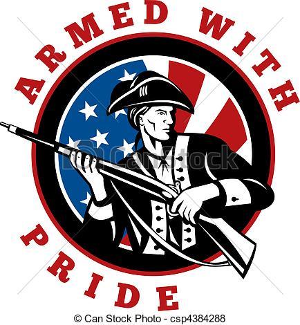 American revolution soldier clipart - ClipartFest