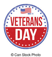 American Veterans Day Badge Clipartby gguy6/147; Veterans Day stamp - Grunge rubber stamp with the text.