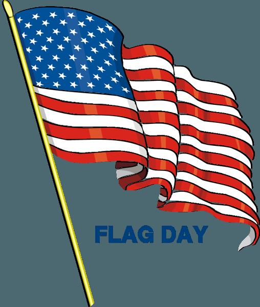 American Waving Flag Happy Flag Day Clip-American Waving Flag Happy Flag Day Clipart-4