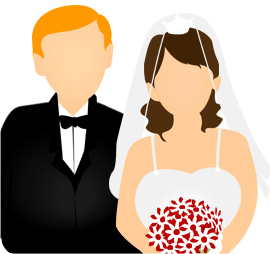 Married Couple Clipart