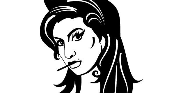 Amy Winehouse Clipart