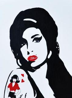 Amy Winehouse. I love her!