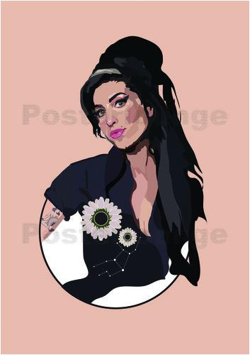 Poster Amy Winehouse-Poster Amy Winehouse-19