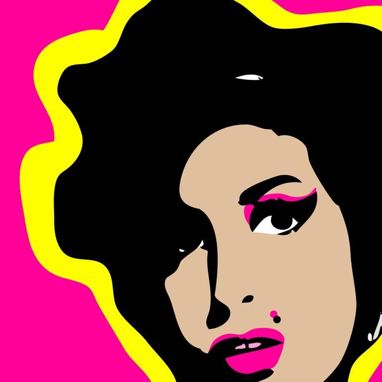 . ClipartLook.com Saatchi Art Artist Linda Pobega; New Media, u201cAmy Winehouseu201d #art