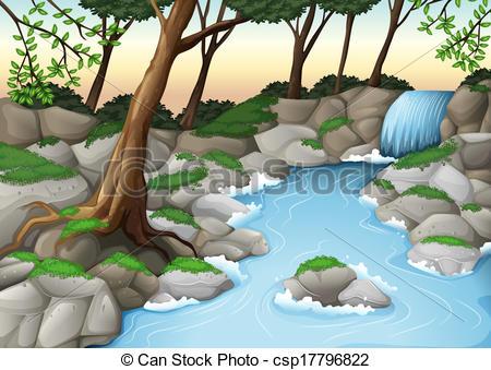 ... An ecosystem - Illustration of an ecosystem