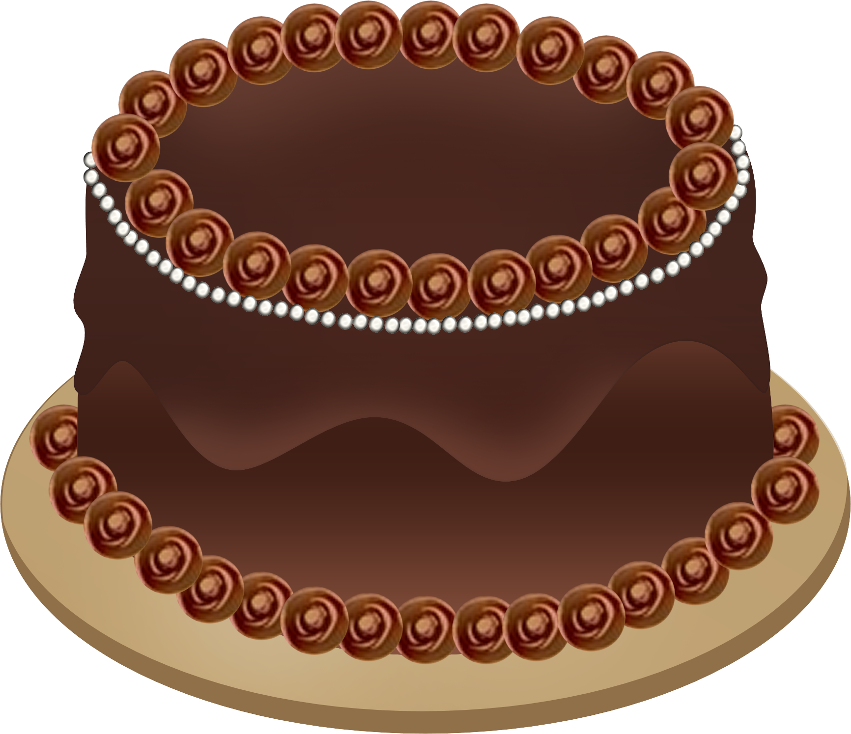 An Illustrated Birthday Cake Graphic Cli-An Illustrated Birthday Cake Graphic Click The Image To View And-0