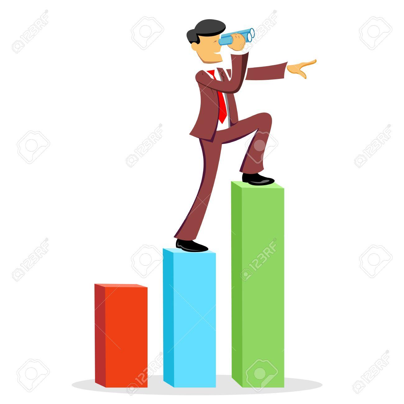 Analyst clipart: financial analyst: