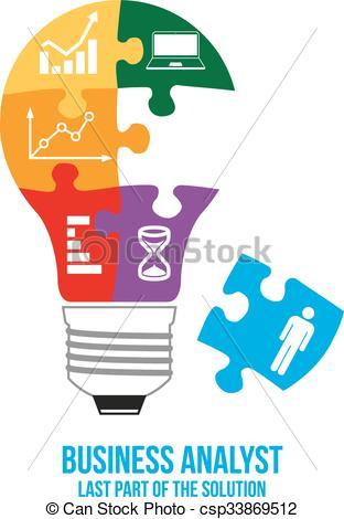 Business analyst design concept. - csp33869512