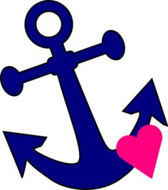 Anchor With Heart clip art - vector clip art online, royalty free u0026amp; public domain