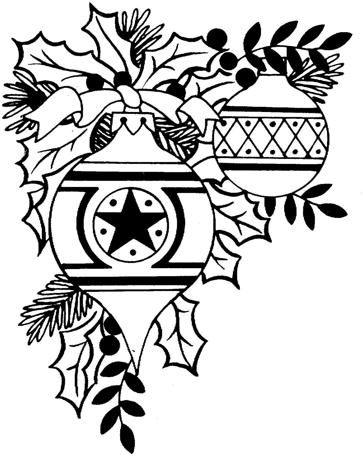 Free Christmas Clip Art Black And White & Look At Clip Art ...  Free Christmas ...
