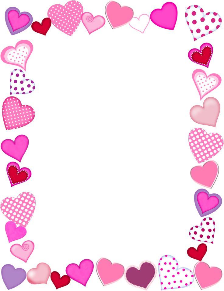 Valentine Border Clip Art
