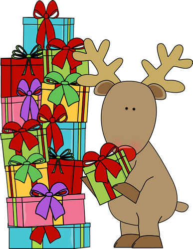 And Christmas Gifts Clip Art Reindeer An-And Christmas Gifts Clip Art Reindeer And Christmas Gifts Image-0