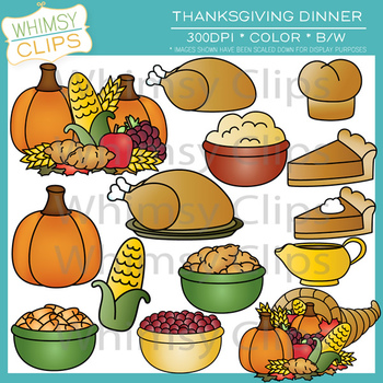 and Clip art on Pinterest - Thanksgiving Food Clipart