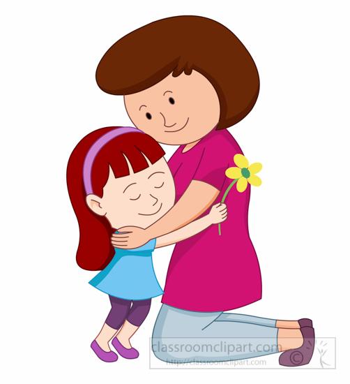 And Hug To Mother Clipart .-And Hug To Mother Clipart .-0