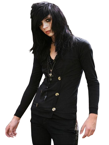 Andy Biersack Png by NaraLili - Andy Biersack Clipart