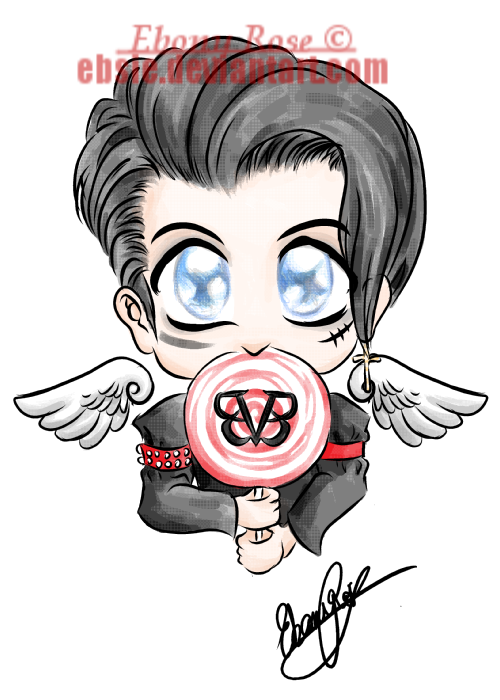 Andy Biersack Tattoo Design By Ebsie Cli-Andy Biersack Tattoo Design by Ebsie ClipartLook.com -12