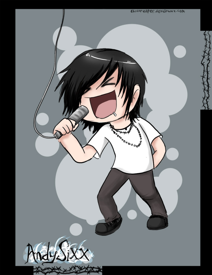 Chibi Andy Sixx by Chocoreaper ClipartLook.com