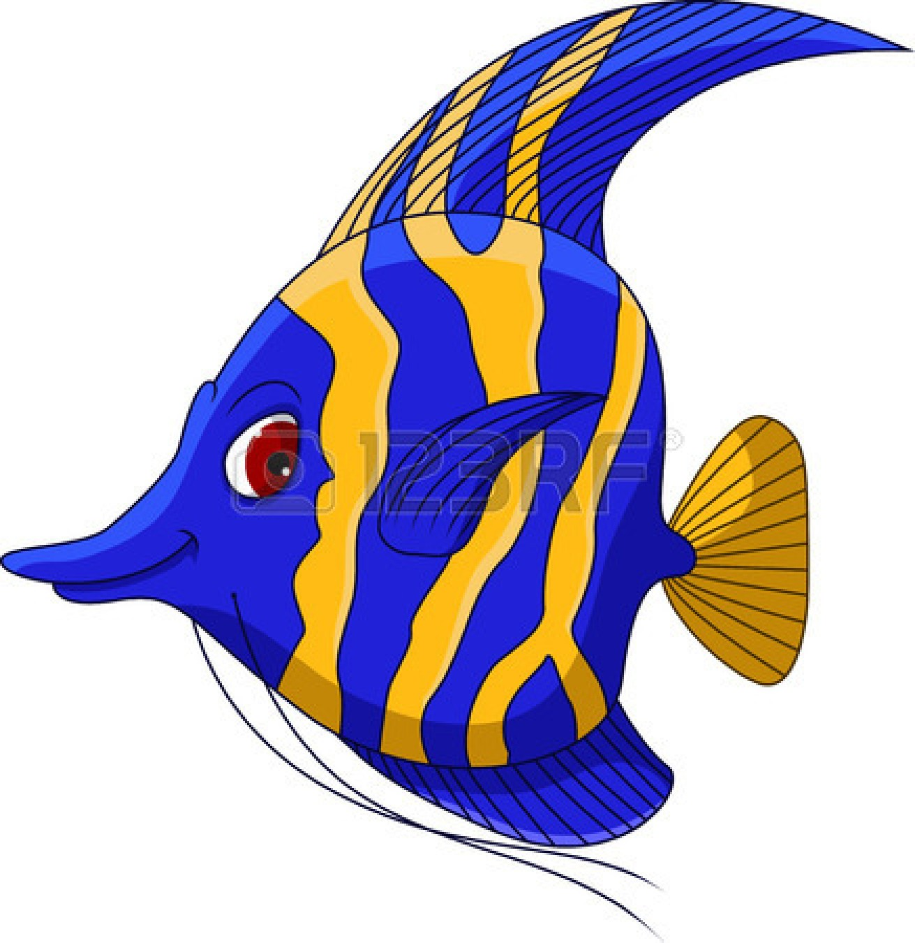 Angel Fish Clipart-angel fish clipart-0