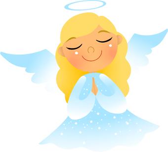 Angel clip art 2