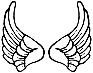 Angel wing clipart 0 white cl - Angel Wings Clipart