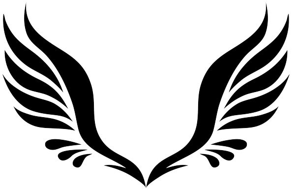 Angel wing clipart 0 white cl - Wing Clipart
