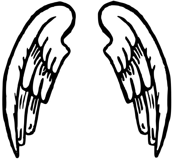Angel Wings And Halo Clip Art-Angel Wings And Halo Clip Art-2